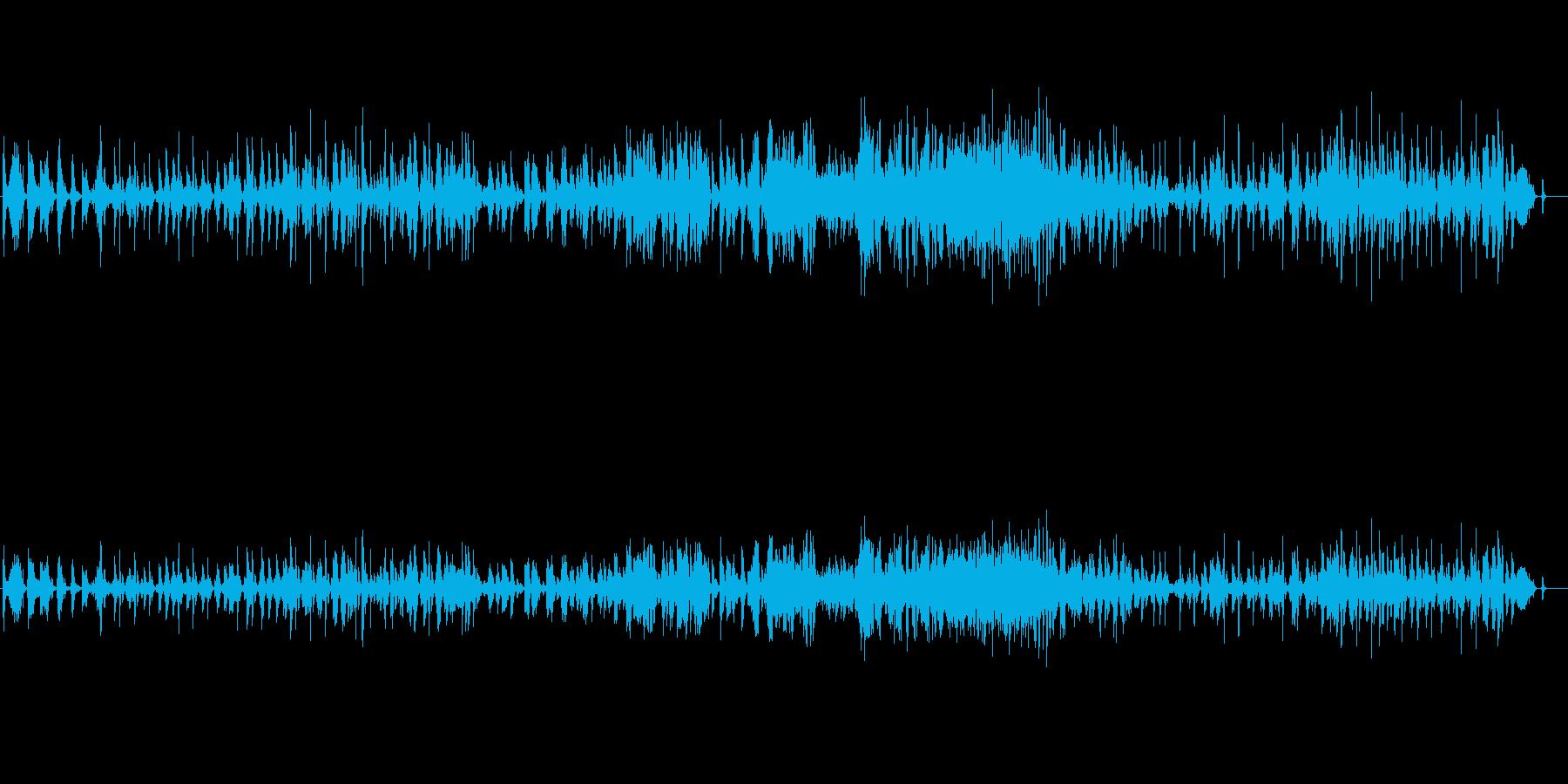 ピアノのみの気だるいブルースジャズの再生済みの波形