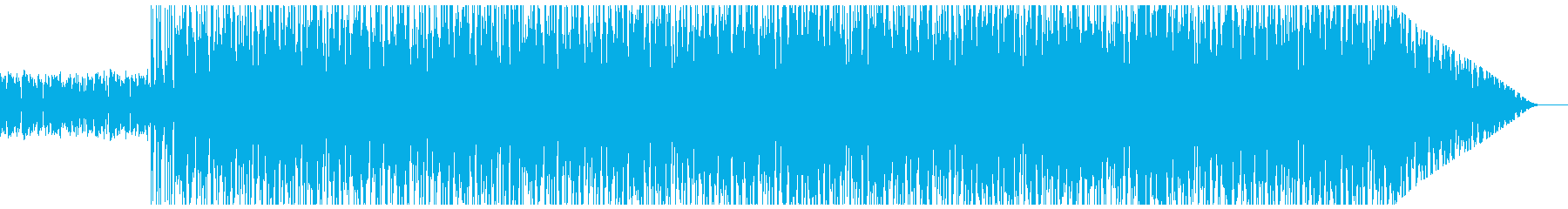 ギターのリフがクールなロック♪の再生済みの波形