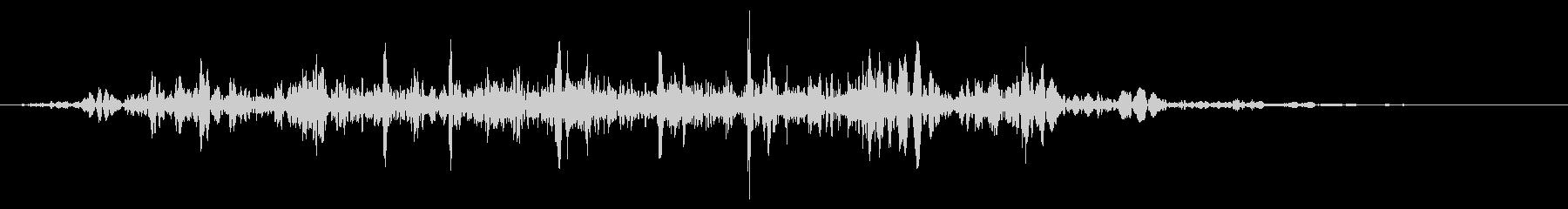 スライムなどが蠢く音 タイプ C#3の未再生の波形