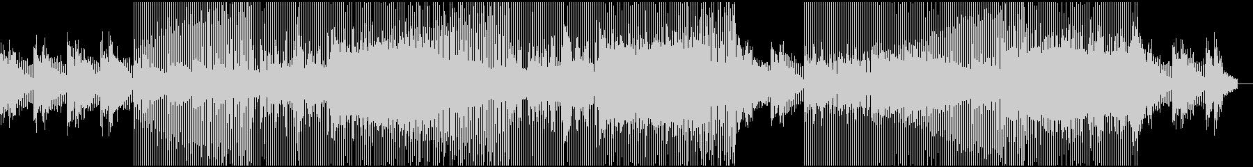優しい音色で包まれるドリーミーなハウスの未再生の波形