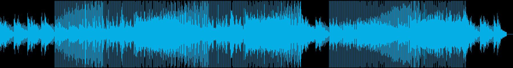 優しい音色で包まれるドリーミーなハウスの再生済みの波形