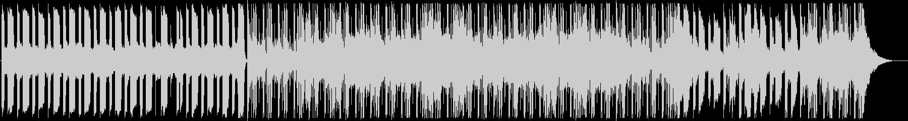 インダストリアル調のサイバーなBGMの未再生の波形