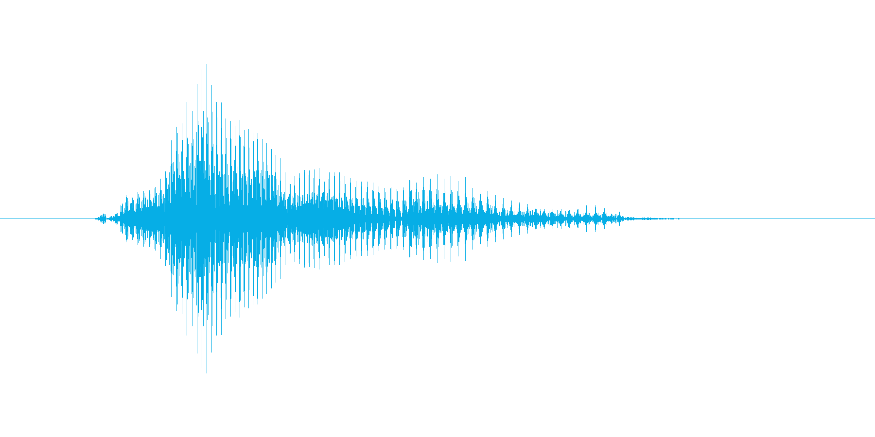ランナーの再生済みの波形
