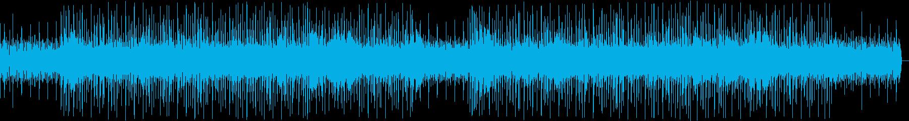 コミカルでかわいい渋谷系ファンク別verの再生済みの波形