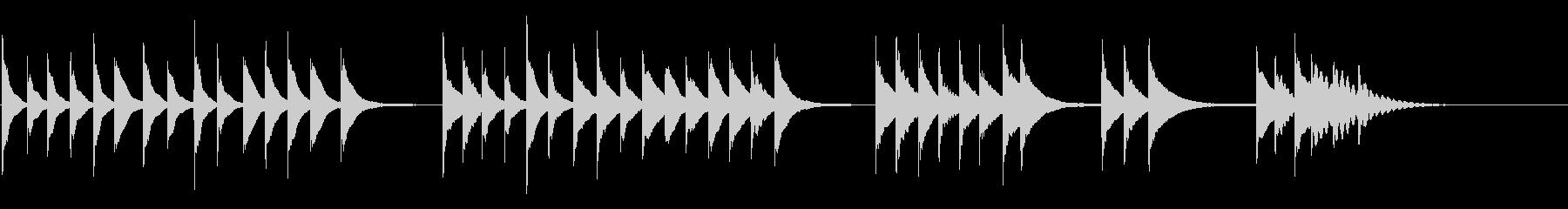 木琴:トリックダウン、漫画コメディ...の未再生の波形