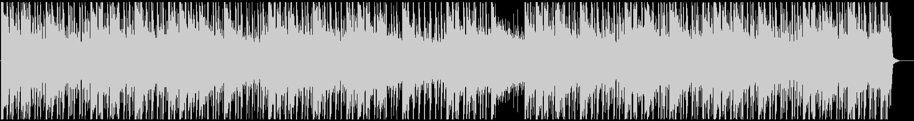 優しいサウンドのトロピカルハウスの未再生の波形