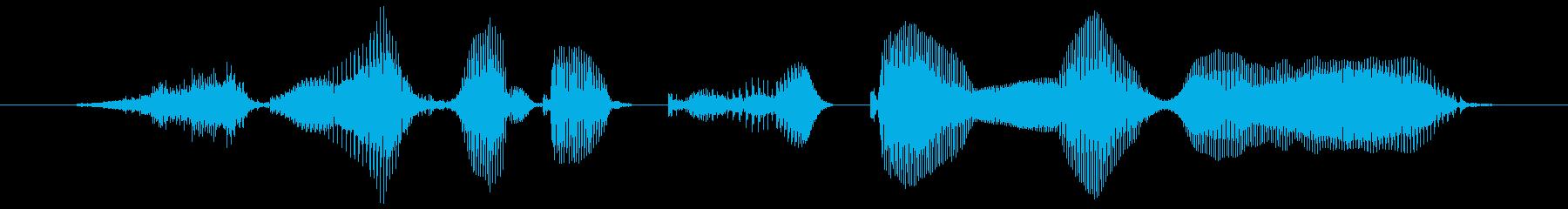 スマホで簡単ログインの再生済みの波形