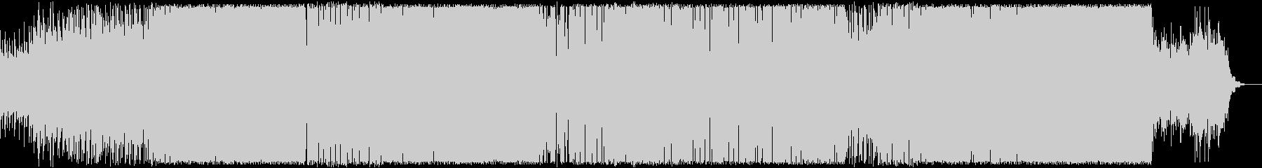 明るく可愛いEDMの未再生の波形