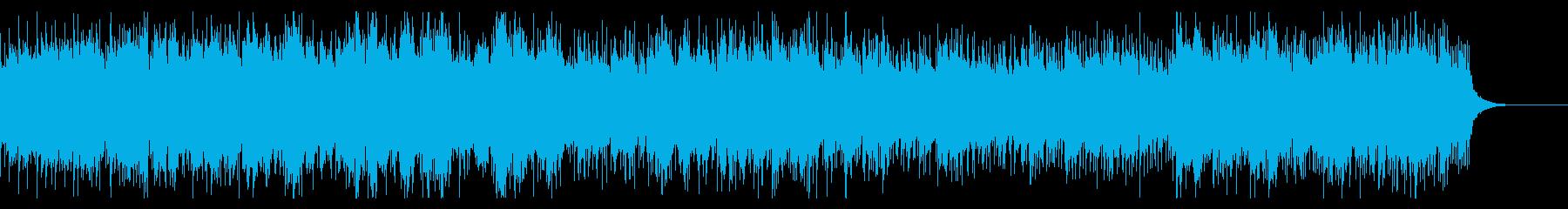 ヴァルキリープロファイル系戦闘曲の再生済みの波形