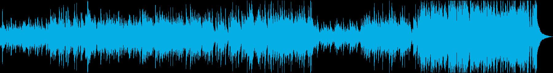 深い紅葉の中を歩くロマネスクジャズの再生済みの波形