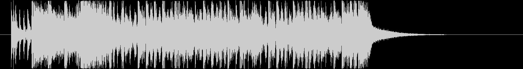 場面転換などに使えるジングル1の未再生の波形