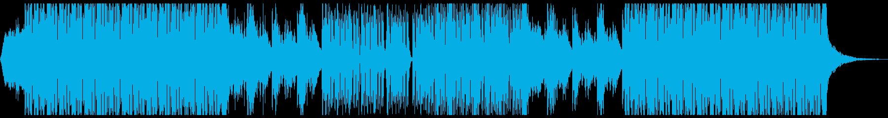 浮遊感ポップス ドリーミーポップの再生済みの波形