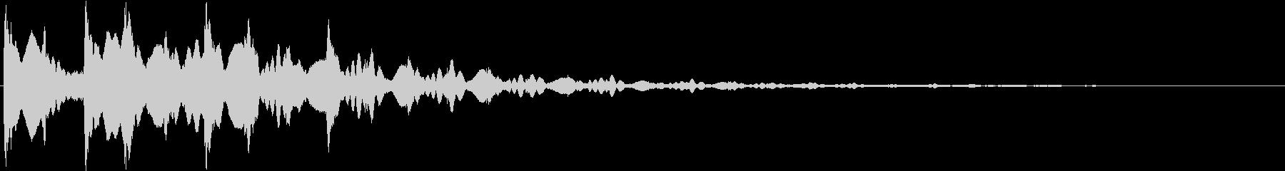 パン:ドキュメンタル風ピアノ・シンセ音5の未再生の波形