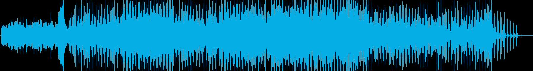 切なさと静寂のピアノバラードインスト曲の再生済みの波形