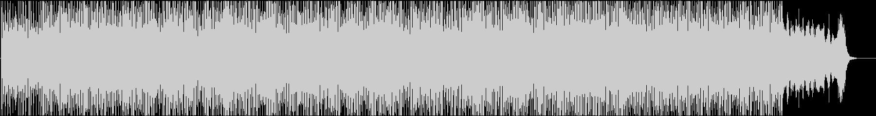 ピアノとフルートの幻想的なエレクトロニカの未再生の波形