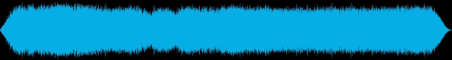 不均一なヘビースタティック、SCI...の再生済みの波形