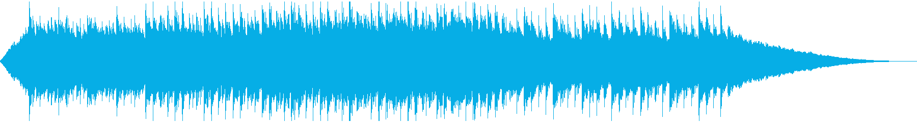 60秒,企業VP,コーポレート,疾走感の再生済みの波形