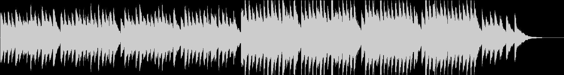 時報・チャイム風の名曲のメロディ・22の未再生の波形