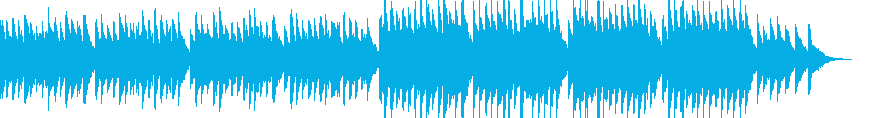 時報・チャイム風の名曲のメロディ・22の再生済みの波形