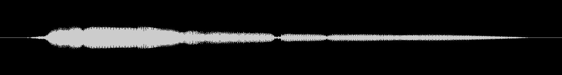 鳴き声 女性トークエルフィッシュ16の未再生の波形