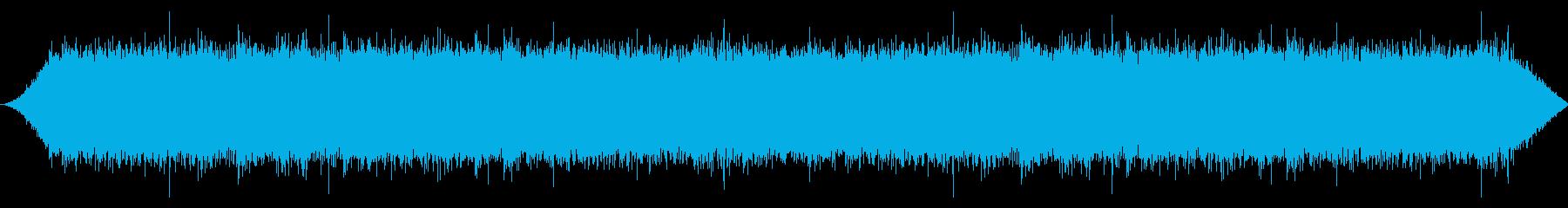 ヘビーフロークリーク:ライトバブリングの再生済みの波形