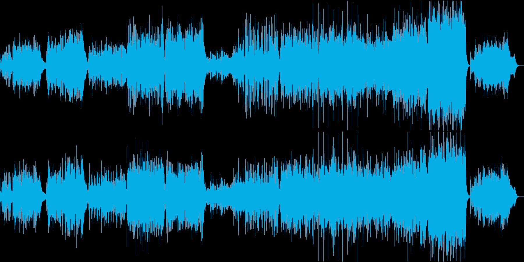 ピアノとヴァイオリンが導く「風」の曲の再生済みの波形
