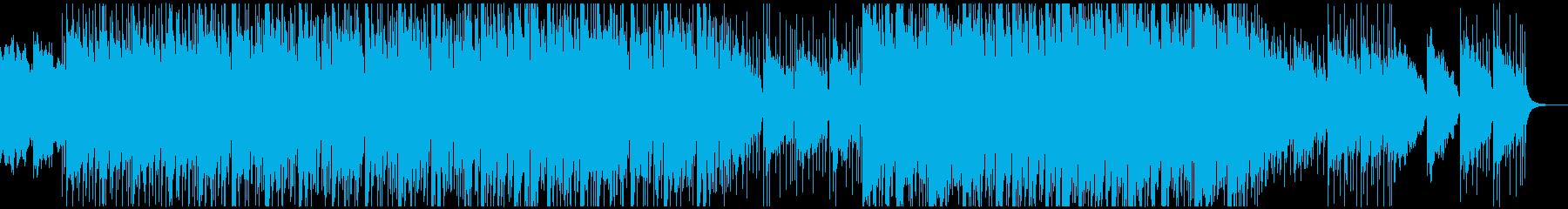 雨の朝〜ゆったりアンニュイなピアノエレピの再生済みの波形
