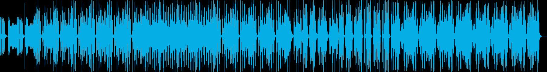 クールで勢いあるボーカルチョップEDMの再生済みの波形