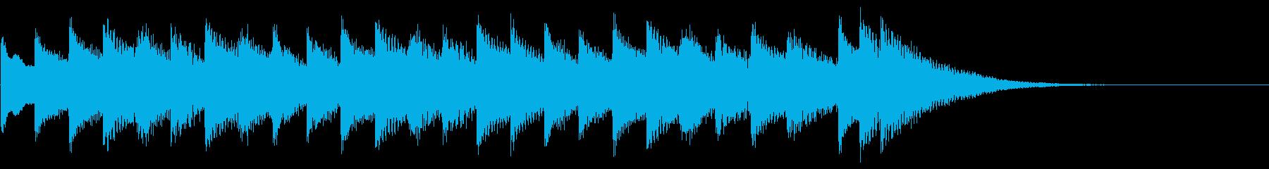 ジングル『電車発車メロディー風』_02の再生済みの波形