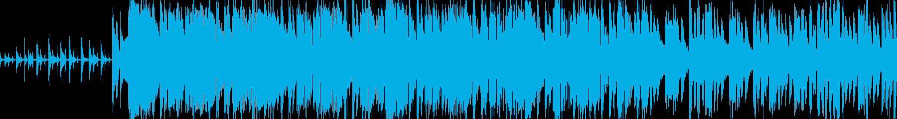 不気味なダンジョンを探索するロックの再生済みの波形