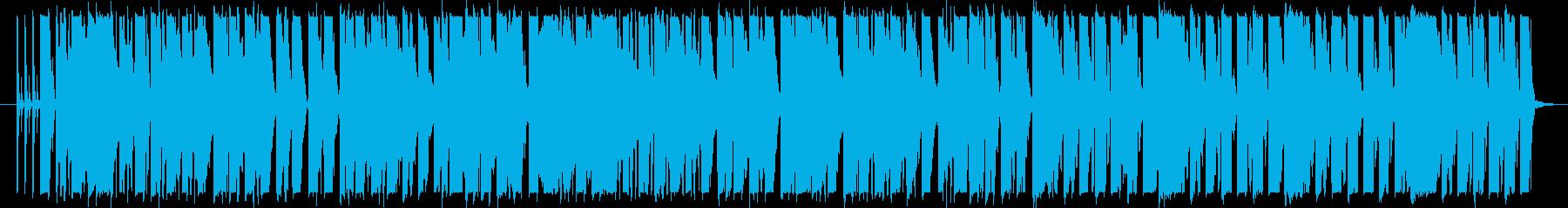 ピコピココミカル・バラエティ番組BGMの再生済みの波形