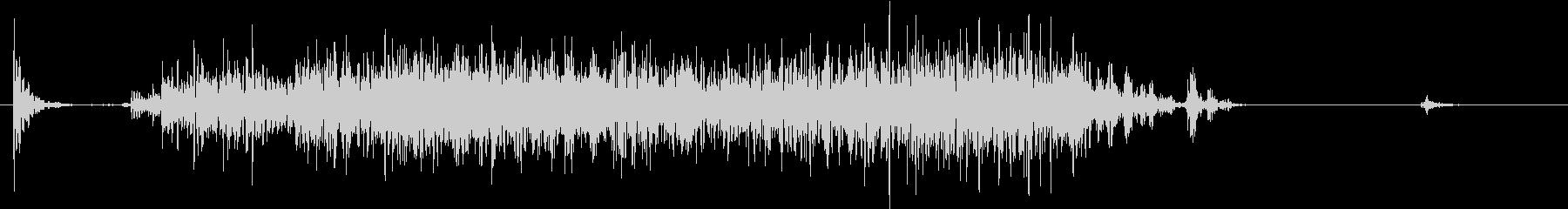【生録音】ペンで書く音 机 11の未再生の波形