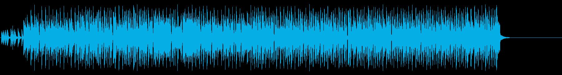 元気一杯の活動的なポップ/ラテンの再生済みの波形