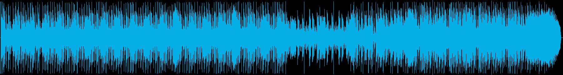 疾走感溢れるエレクトロの再生済みの波形