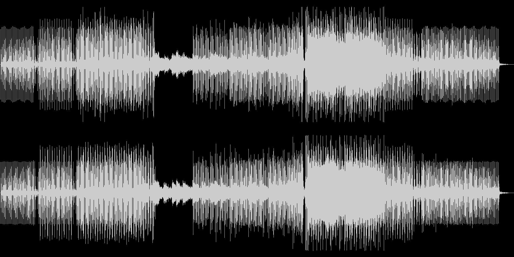 夜の余韻・朝焼けイメージの綺麗系BGMの未再生の波形