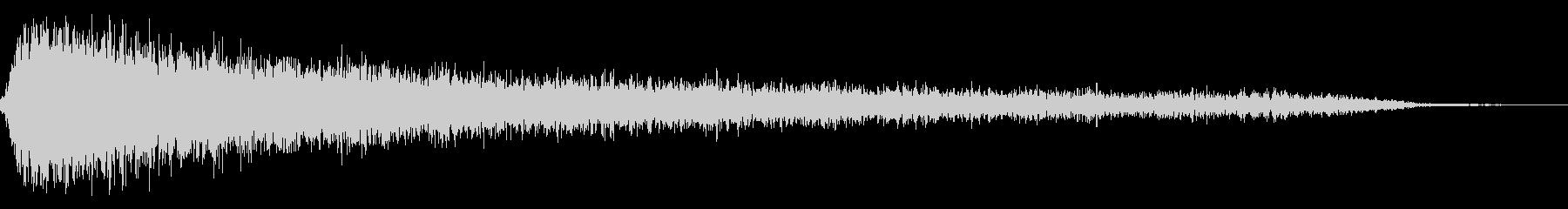 ホラー2(幽霊が現れる音)の未再生の波形
