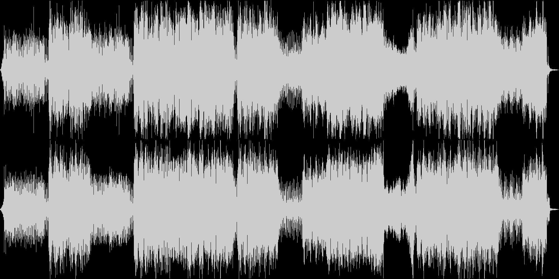 疾走感のあるかっこいいケルトの笛の曲の未再生の波形