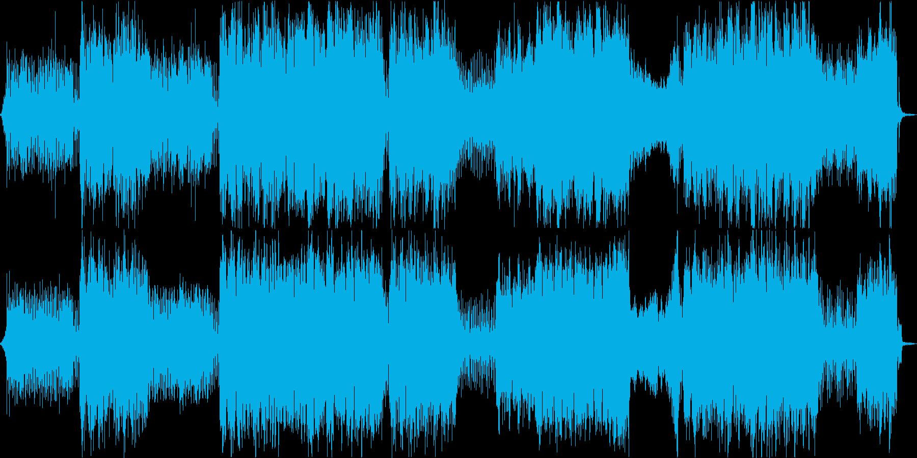 疾走感のあるかっこいいケルトの笛の曲の再生済みの波形