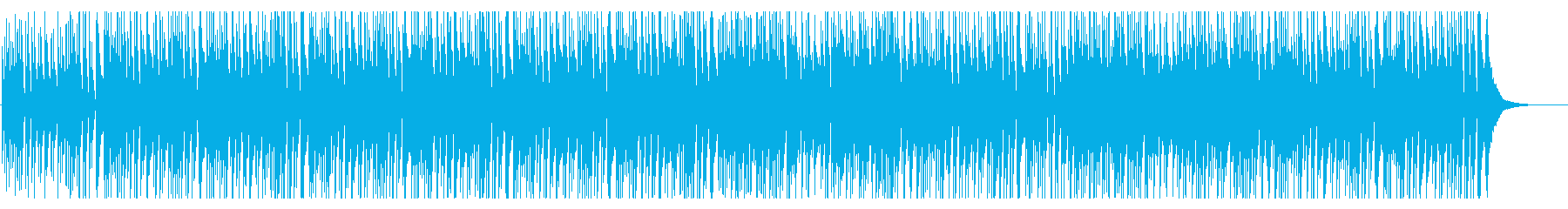 ほのぼのかわいい映像におしゃれで楽しいの再生済みの波形
