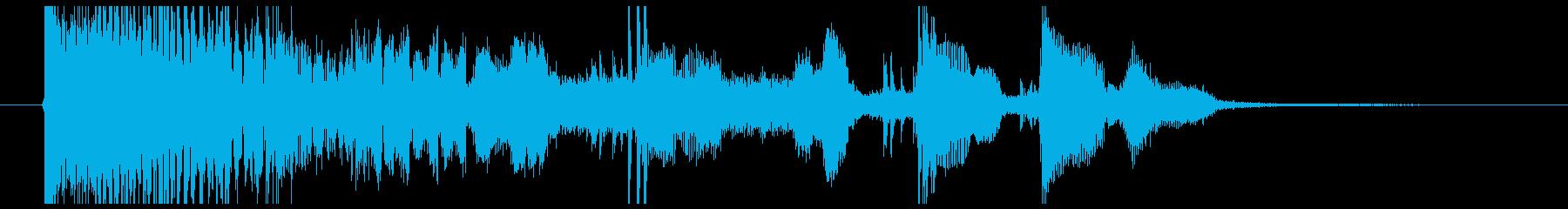「Weekend Party」効果音の再生済みの波形