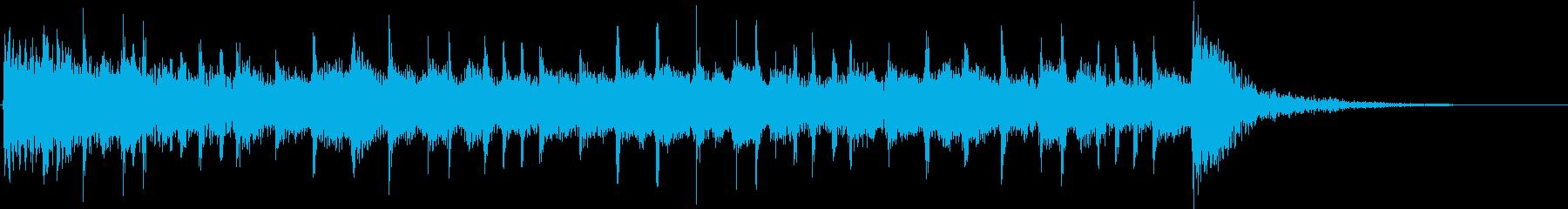 シロミまで11秒のジングルです。の再生済みの波形