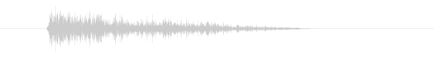 レーザー音-35-3の未再生の波形