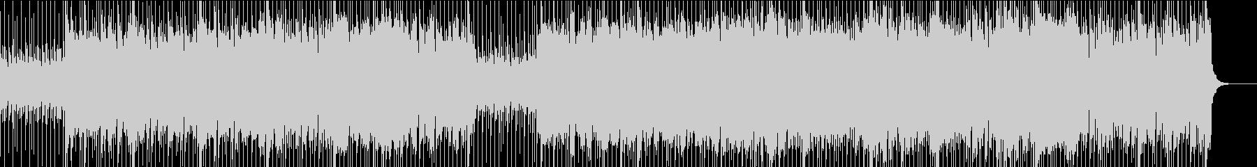 都会的な哀愁ディスコ/メロウミドルテンポの未再生の波形