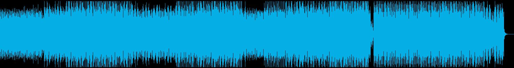 無機質・スタイリッシュなミニマルテクノの再生済みの波形