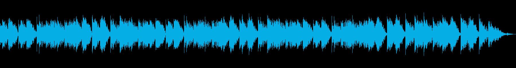 どこか懐かしい気持ちにさせてくれる音楽の再生済みの波形