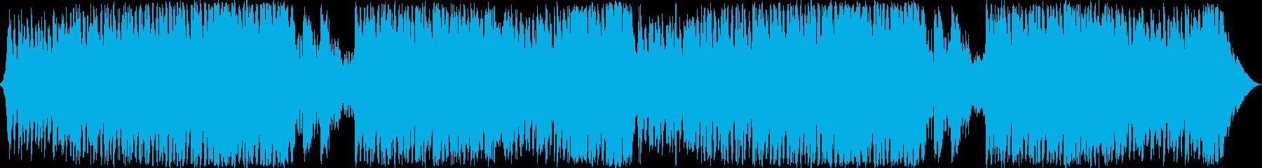 シネマティックなコーラス系オーケストラの再生済みの波形