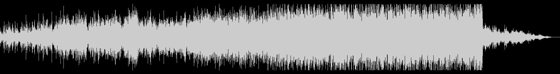 サスペンシブなシンセBGMの未再生の波形