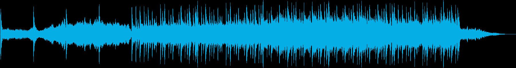 ポップな背景、ピアノメロディー。ク...の再生済みの波形