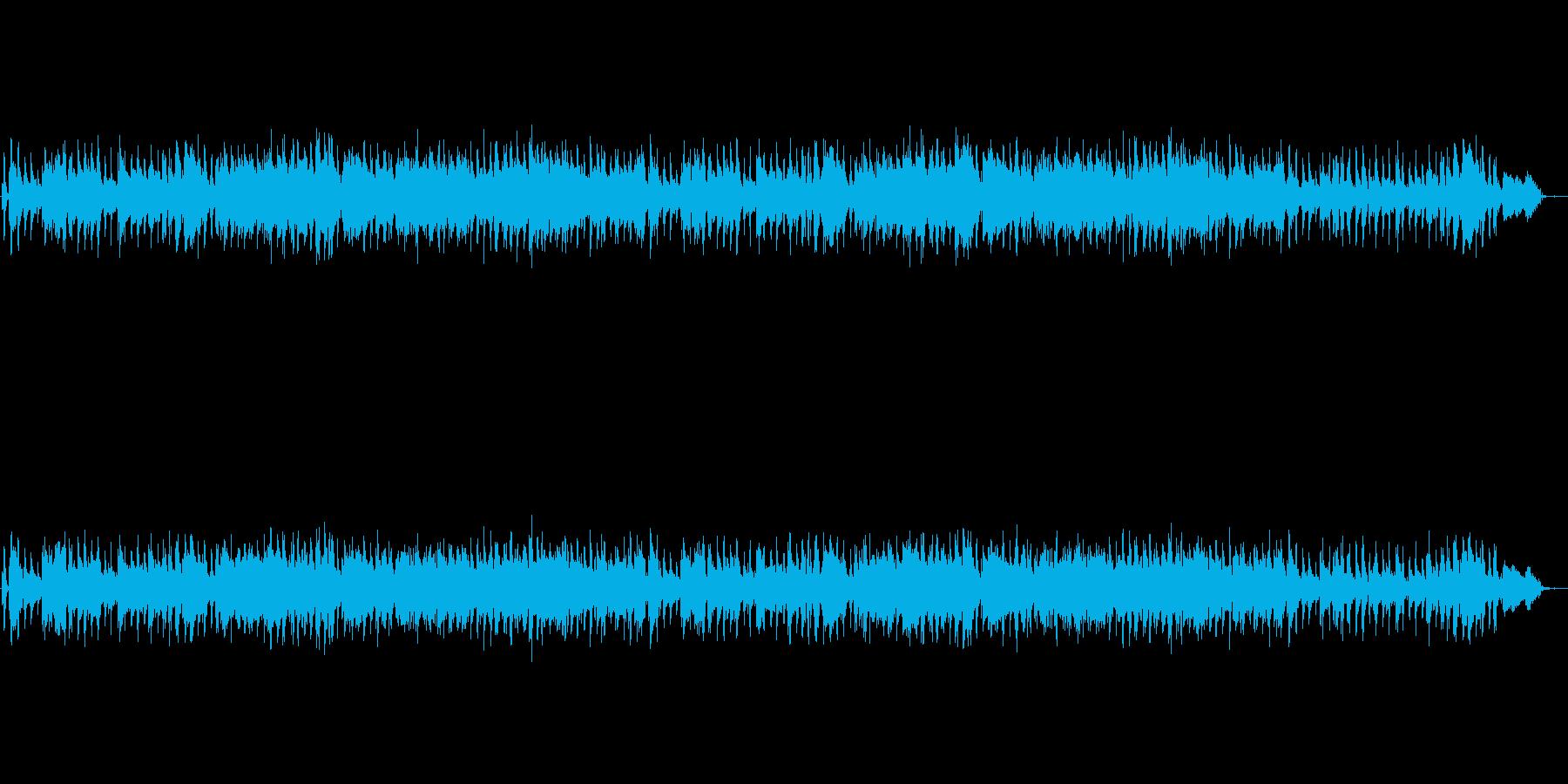 生演奏のサックスのクールなジャズの再生済みの波形