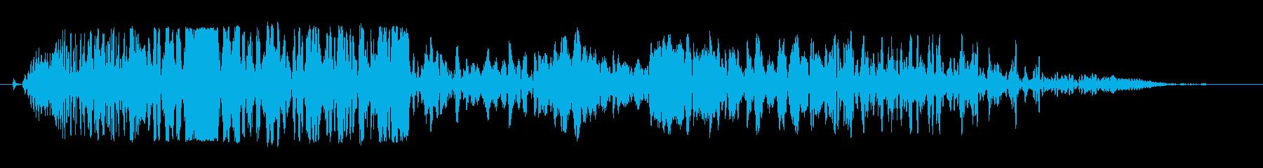 イーグルスクリーム、コーの再生済みの波形